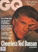 TED DANSON Signed GQ Magazine w/ PSA/DNA COA (NO Label)
