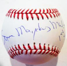 Ted Danson Signed Official Major League Baseball W/COA Cheers Mayday Malone #1