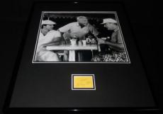 Ted Knight Signed Framed 16x20 Photo Display JSA Caddyshack Judge Elihu Smails
