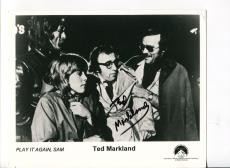 Ted Markland Play It Again Sam High Chaparral Signed Autograph Photo