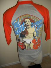 "Ted Nugent 1980 ""scream Dream"" Jersey Vintage M Rare"