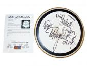Ted Nugent Signed Concert Used Rolling Thunder Tour Drum PSA AFTAL