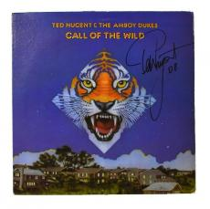 Ted Nugent Autographed Signed Album LP Record Certified Authentic PSA/DNA COA