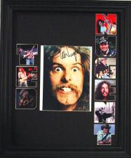TED NUGENT Framed 1 OF A KIND  SIGNED Photo Display    AFTAL