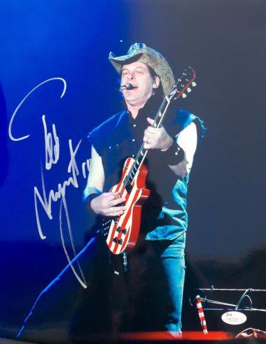 Ted Nugent Signed 11x14 Photo Jsa -M61205