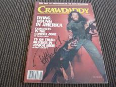 Ted Nugent Signed Autographed Crawdaddy Magazine Cover Photo PSA Guaranteed