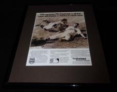 Ted Williams 1988 The Equitable Framed 11x14 ORIGINAL Vintage Advertisement B