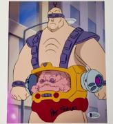 Teenage Mutant Ninja Turtles PAT FRALEY signed Krang 8x10 Photo BAS Beckett COA