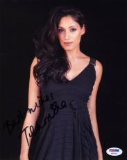 Tehmina Sunny SIGNED 8x10 Photo Leyla NCIS EXTANT *SEXY* PSA/DNA Autographed