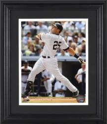 "Mark Teixeira New York Yankees Framed Unsigned 8"" x 10"" Photograph - Mounted Memories"