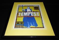 Tempest 1995 11x14 Framed ORIGINAL Vintage Advertisement Patrick Stewart