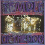 Temple of the Dog Autographed Music Album with 5 Signatures - BAS