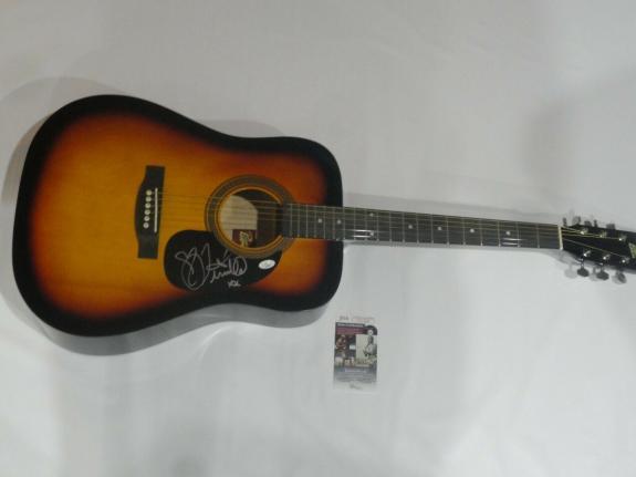 Tenille Townes Signed Full-size Sunburst Acoustic Guitar Country Star Psa Coa