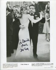 TERI GARR HAND SIGNED 8x10 PHOTO+COA     AMAZING POSE+JACKIE GLEASON    TO DAVID