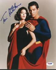 Teri Hatcher Superman Signed 8x10 Photo Autographed Psa/dna #u65729
