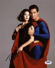 Teri Hatcher Superman Signed 8x10 Photo Autographed Psa/dna #w79671