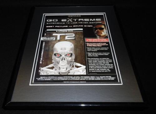 Terminator 2 2003 Framed 11x14 ORIGINAL Advertisement Arnold Schwarzenegger