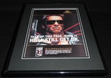 Terminator 2003 Framed 11x14 ORIGINAL Advertisement Arnold Schwarzenegger