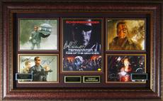 Terminator 3 - Cast Autographed Poster Framed Display