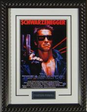 Terminator Framed 11x17 Publicity Movie Poster