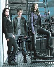 """TERMINATOR: THE SARAH CONNOR CHRONICLES"""" Signed by THOMAS DEKKER and LENA HEADEY Signed 8x10 Color Photo"""
