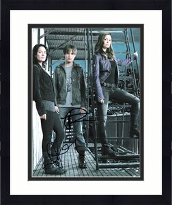 "TERMINATOR: THE SARAH CONNOR CHRONICLES"" JSA COA - Signed by THOMAS DEKKER and LENA HEADEY Signed 8x10 Color Photo"