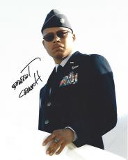 "TERRANCE HOWARD as COLONEL JAMES RHODES in the 2008 Movie ""IRON MAN"" Signed 8x10 Color Photo"