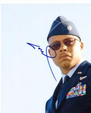 Terrence Howard Autographed Iron Man Photo UACC RD PSA/DNA AFTAL