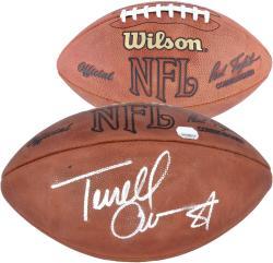 Dallas Cowboys Terrell Owens Autographed Football