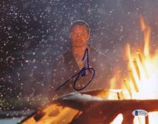 "Terrence Howard Autographed 8""x 10"" Crash Snow Photograph - BAS COA"