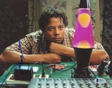 "Terrence Howard Autographed 8""x 10"" Hustle & Flow Lava Lamp Photograph - BAS COA"