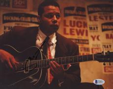 "Terrence Howard Autographed 8""x 10"" Playing Guitar Photograph - BAS COA"