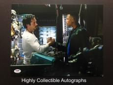 Terrence Howard Signed 11x14 Photo Autograph Psa Dna Coa Iron Man 1