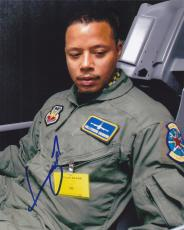 Terrence Howard Signed 8x10 Photo w/COA Iron Man Hustle and Flow