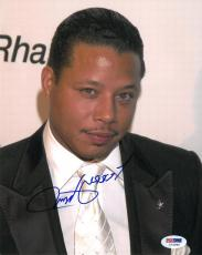 Terrence Howard Signed Authentic Autographed 8x10 Photo (PSA/DNA) #I72589