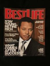 Terrence Howard Signed Best Life Magazine