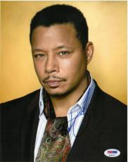 Terrence Howard Signed Empire Authentic Autographed 8x10 Photo PSA/DNA #AA40773