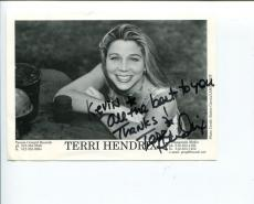 Terri Hendrix Folk Singer Songwriter Lil' Jack Slade Signed Autograph Photo