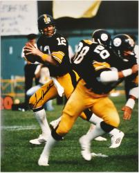 Pittsburgh Steelers Terry Bradshaw Autographed 16'' x 20'' - Mounted Memories