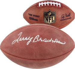 Terry Bradshaw Pittsburgh Steelers Autographed Duke Pro Football - Mounted Memories