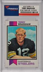 Terry Bradshaw Pittsburgh Steelers 1973 Topps #15 Card
