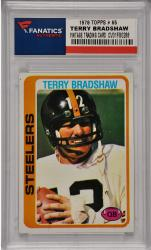 Terry Bradshaw Pittsburgh Steelers 1978 Topps #65 Card
