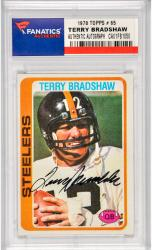 Terry Bradshaw Pittsburgh Steelers Autographed 1978 Topps #65 Card