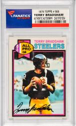 Terry Bradshaw Pittsburgh Steelers Autographed 1979 Topps #900 Card