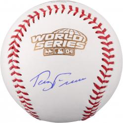 Terry Francona Boston Red Sox Autographed 2004 World Series Baseball