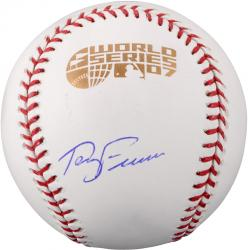 Terry Francona Boston Red Sox Autographed 2007 World Series Baseball