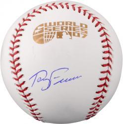 Terry Francona Boston Red Sox Autographed 2007 World Series Baseball