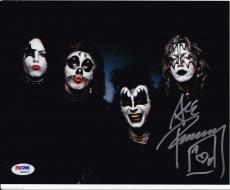 ACE FREHLEY signed autographed 8x10 photo early 1974 1975 psa dna coa KISS 74 75