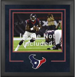 Houston Texans Deluxe 16'' x 20'' Horizontal Photograph Frame with Team Logo - Mounted Memories