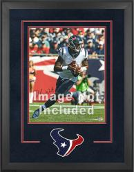 Houston Texans Deluxe 16'' x 20'' Vertical Photograph Frame with Team Logo - Mounted Memories